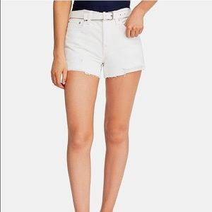 FREE PEOPLE high waisted jean shorts BOGO